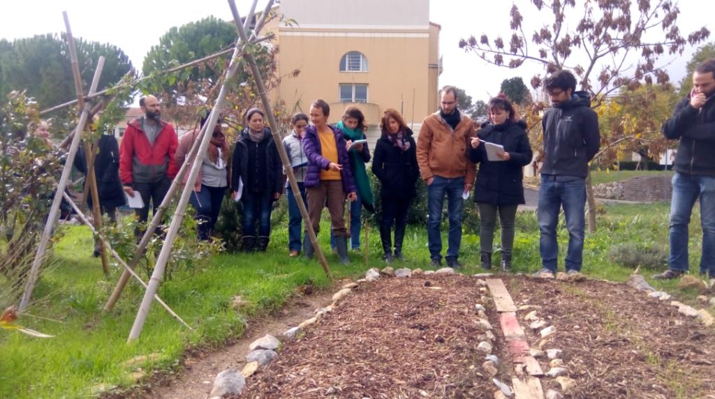 Formation compost au jardin